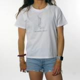 Trigger Girls Indi Surf Box Tee Ladies in White