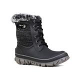 Bogs Arcata Knit Boot Ladies in Black Multi