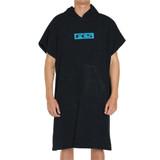 FCS Poncho Towel in Black