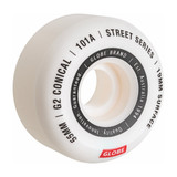 Globe G2 Conical Street Wheel 53MM in White Essential
