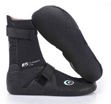 Rip Curl 3MM Flash Bomb Hidden Split Toe Bootie Ladies in Black
