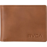 RVCA Crest Bifold Wallet Mens in Tan