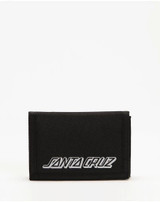 Santa Cruz MFG Dot Velcro Wallet Mens in Black