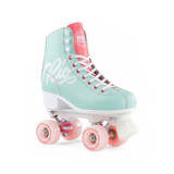 Rio Roller Script Roller Skates in Teal And Coral