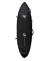 Creatures of Leisure Shortboard Multi Tour DT2.0 6ft 7 Cover in Black Silver