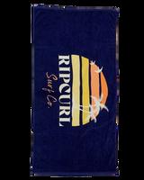 Rip Curl Scenic Standard Towel Ladies in Navy
