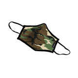 Brixton Antimicrobial Face Mask in Camo