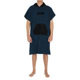 FCS Poncho Towel in Navy Black