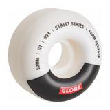 Globe G1 Street Wheel 52MM in White Black Bar