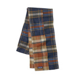 Patagonia Fjord Flannel Patchwork Scarf in Defender New Navy