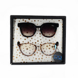 Quay Noosa And Rumours Gift Set Sunglasses in Black White