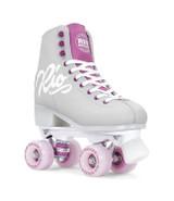 Rio Roller Script Roller Skates in Grey And Purple