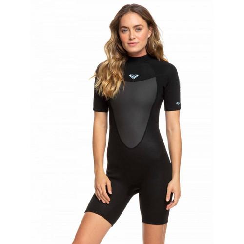 Roxy 2MM Prologue Flatlock BZ Springsuit Ladies in Black