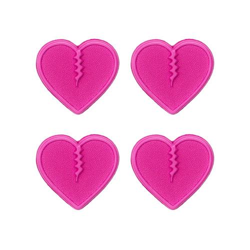 Crab Grab Mini Hearts Stomp Pad Pack in Pink