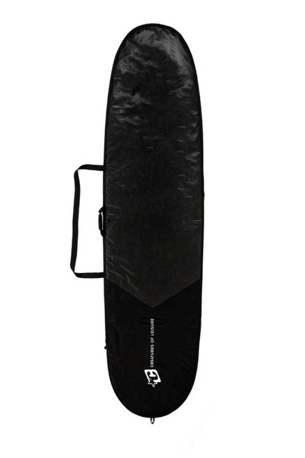 Creatures Of Leisure 9ft 6 Longboard Icon Lite Cover in Black Silver