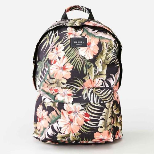Rip Curl Dome 18L Leilani Backpack Ladies in Black