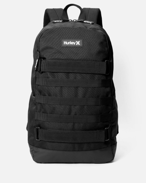 Hurley No Comply Backpack Mens in Black