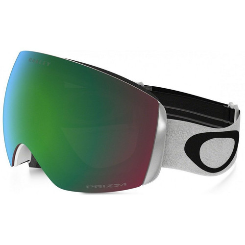 Oakley Flight Deck XM Goggle in Matte White Prizm Jade Iridium