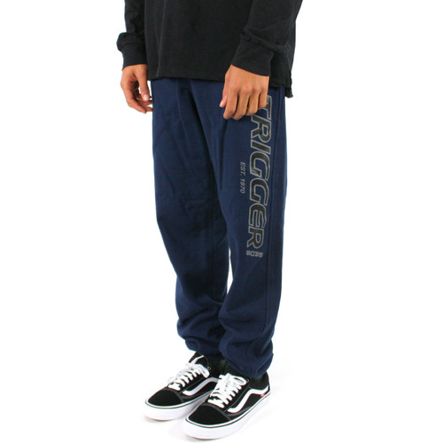 Trigger Bros Original Tracksuit Pant Youth in Navy