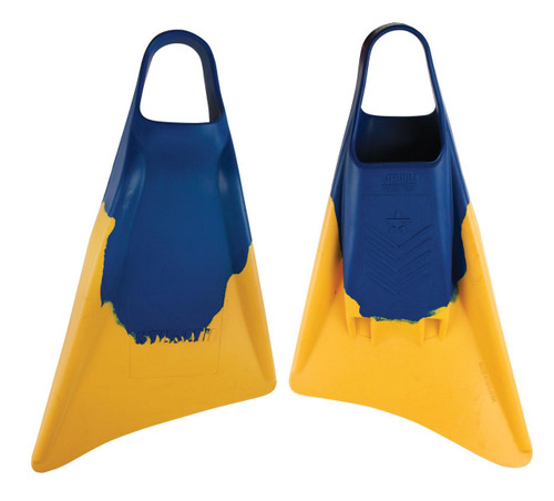Stealth S3 Fins in Blue Sun Gold