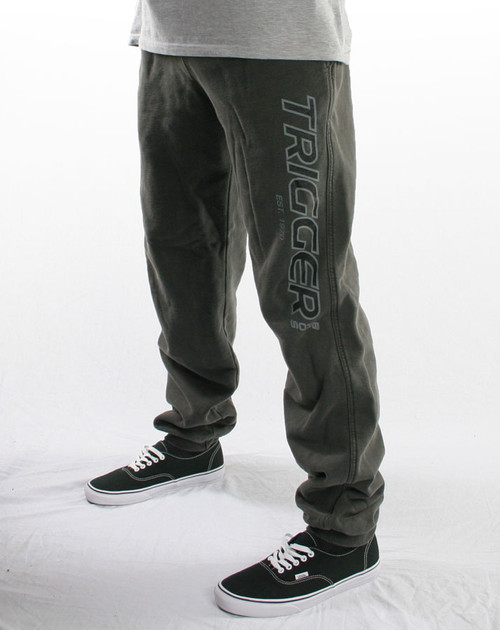 Trigger Bros Original Tracksuit Pant Youth in Charcoal