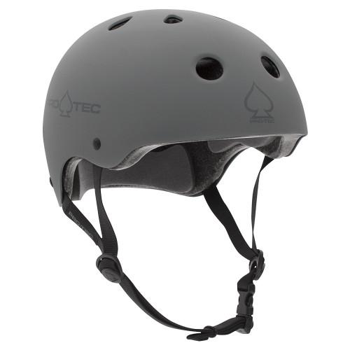 Protec Classic Certified Helmet in Matte Grey