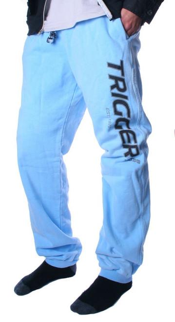 Tracksuit Pant Trigger Light Blue Kids