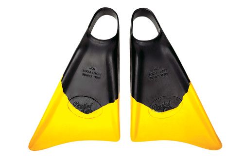 Limited Edition Team Spec A Fins in Black Yellow
