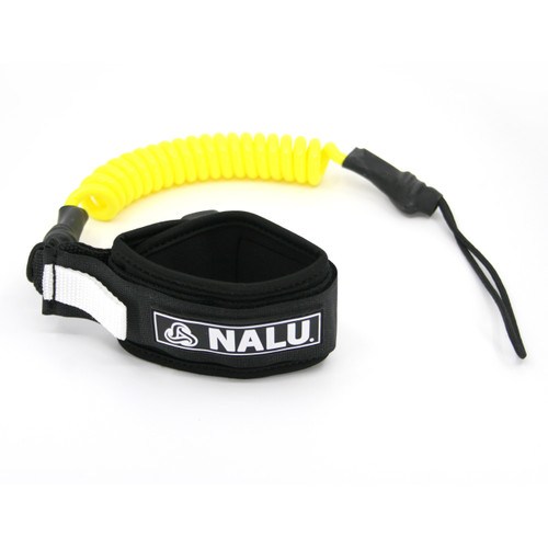 Nalu Basic Bicep Leash in Yellow