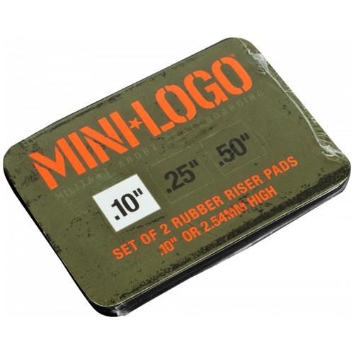 Mini Logo Riser Pads .10in Set of 2