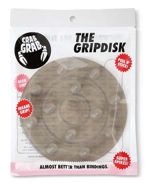 Crab Grab Grip Disk Stomp Pad in Smoke