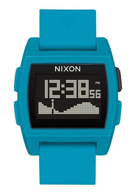 Nixon Base Tide Watch Mens in Blue Resin