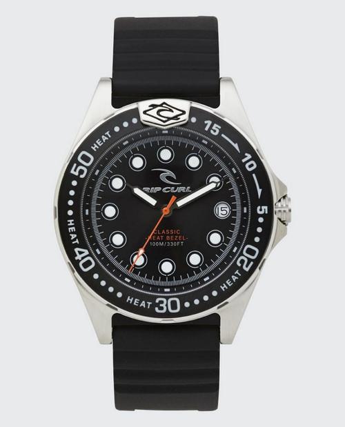 Rip Curl Classic Heat Bezel Watch in Black