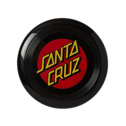 Santa Cruz Dot Flying Disk in Black