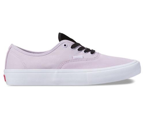 Vans Authentic Pro Velvet Shoes in Lavender