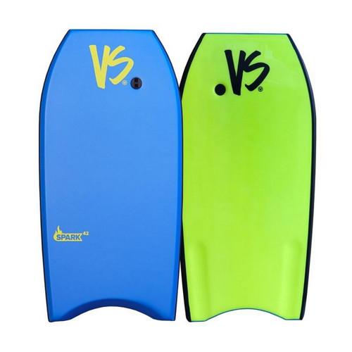 VS Spark Bodyboard in Light Blue Fluro Yellow