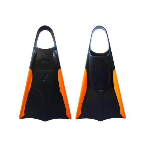 Nife N2 Flippers in Black Orange