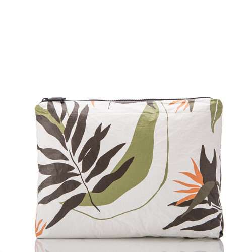 LeMU Mid Pouch in Painted Birds