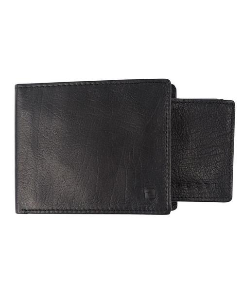 Rip Curl K-Roo RFID 2 in 1 Wallet Mens in Black