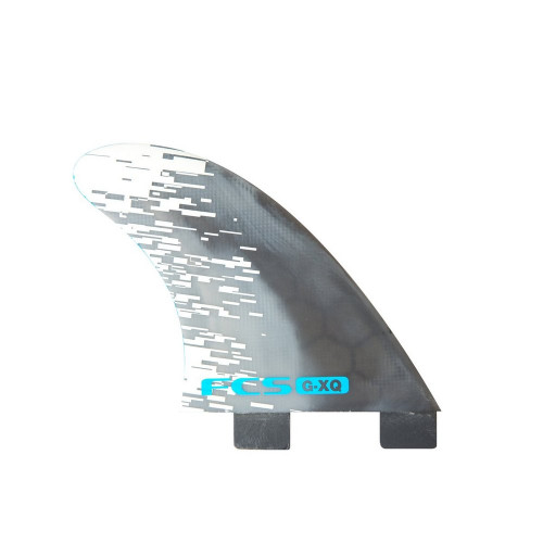 FCS GXQ Blue Smoke Quad Fins