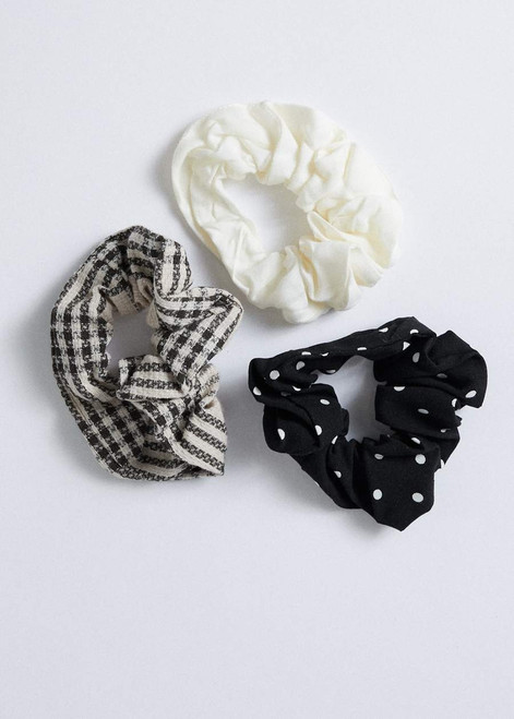Afends Starfield Scrunchies Three Pack in Multi