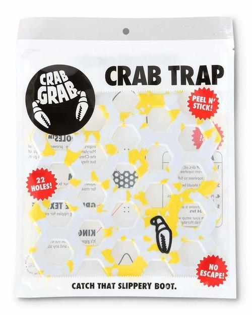 Crab Grab Crab Trap Stomp Pad in Yellow Snow