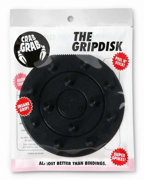 Crab Grab Grip Disk Stomp Pad in Black
