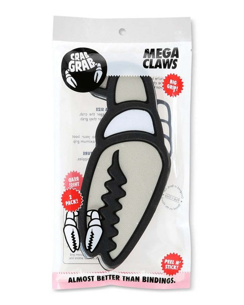 Crab Grab Mega Claws Stomp Pad in Grey White Black