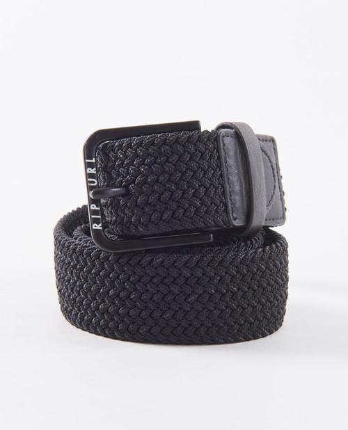 Rip Curl Hope Rope Belt Mens in Black