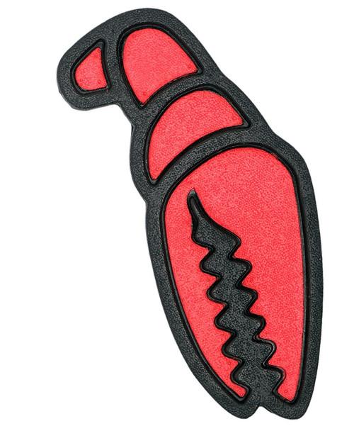 Crab Grab Mega Claws Stomp Pad in Red Black