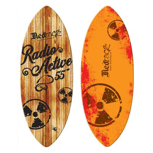 Redback Radioactive Classic 55in Skimboard