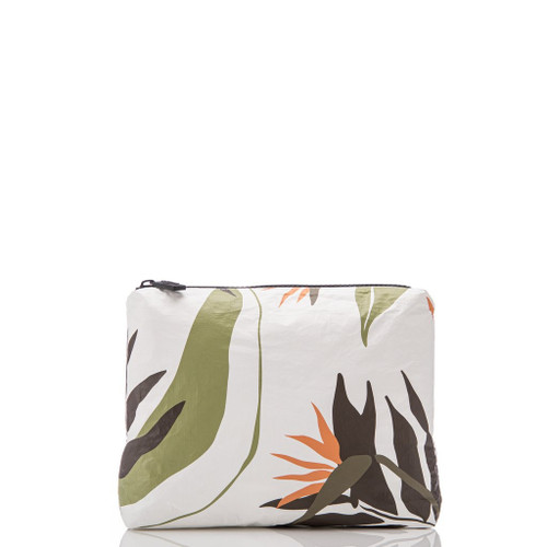 LeMU Small Pouch in Painted Birds