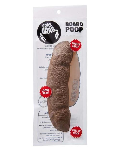 Crab Grab Board Poop Stomp Pad in Brown