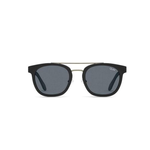 Quay Coolin Sunglasses in Black Smoke